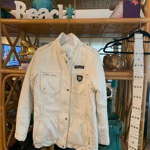 Bogner Fire ice jacket white sz is 8 39/m